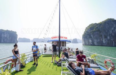 tàu thăm quan vịnh lan hạ, đảo khỉ trong ngày